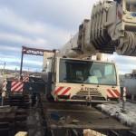 Кран автомобильный Terex 140 тн выгрузка (фото 2)